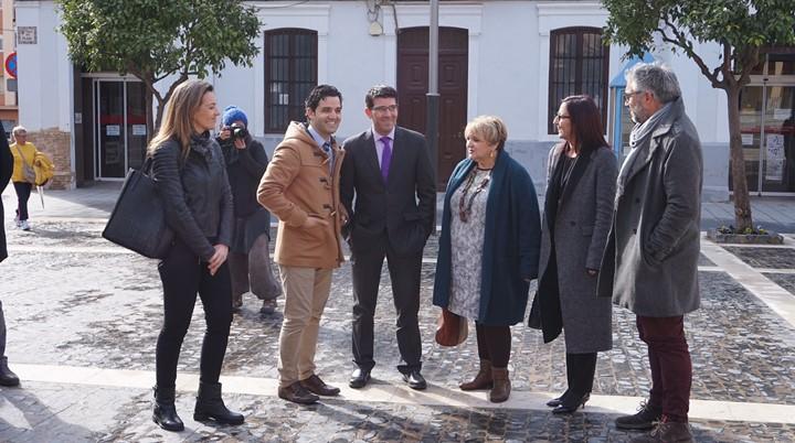 El presidente de la diputación visitó obras en Paterna