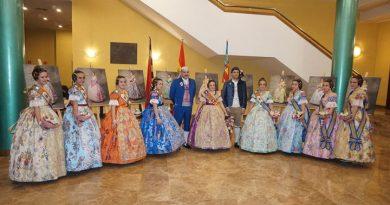 Exaltación de las Falleras Mayores de Paterna