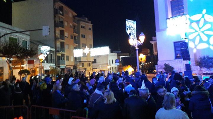 Fiesta Año Nuevo en Paterna