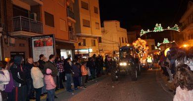 La tradicional Cabalgata de Reyes en Paterna