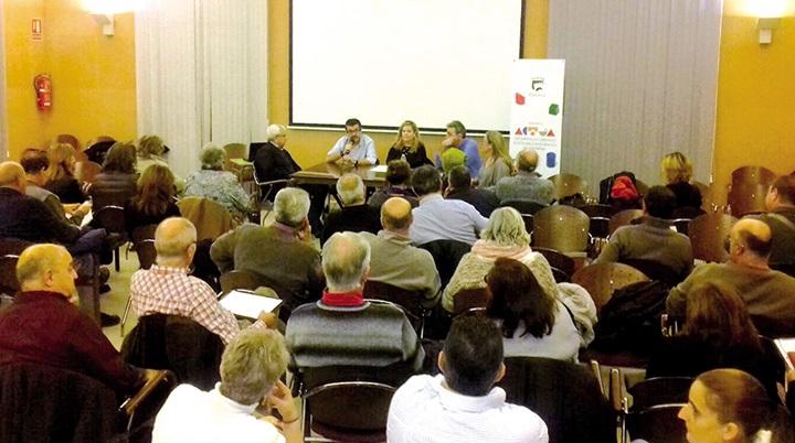 Reunión informativa sobre el Plan Actúa.