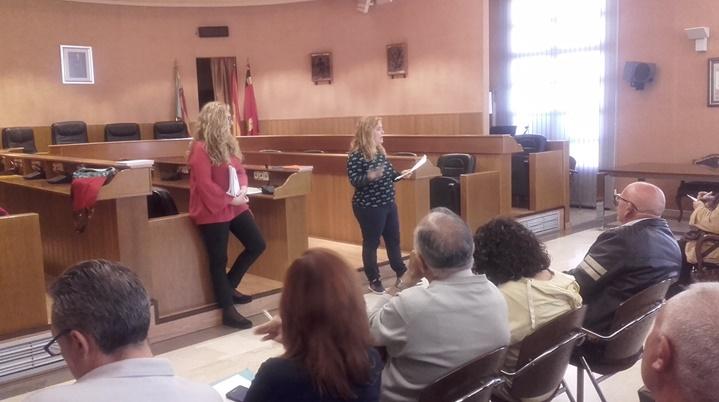 Reunión informativa sobre las ferias de Paterna
