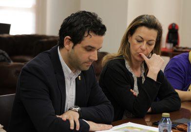 """Sagredo, Campos, Mora y Julio Fernández (PSPV) acuden a los juzgados en calidad de """"imputados"""" por el caso Halloween"""