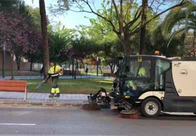 El Ayuntamiento de Paterna pone en marcha una campaña de limpieza a fondo de todos los barrios de la localidad