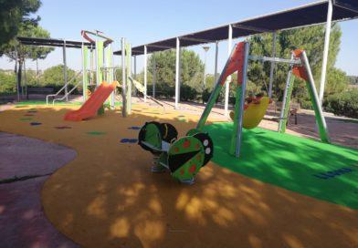 El Ayuntamiento finaliza la reforma y abre al público los parques infantiles de El Plantío, el Auditori y Lloma Llarga