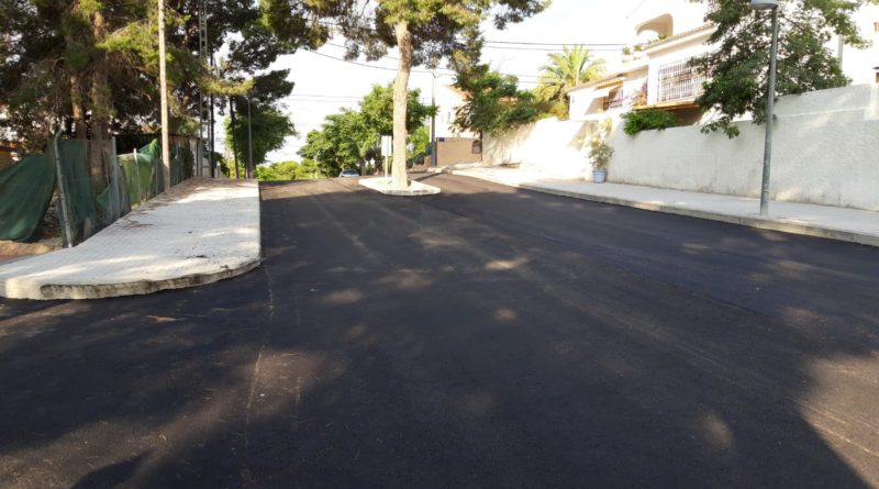 Compromís pide que se cambie la ruta del autobús de La Cañada y que pase por la reasfaltada calle 15