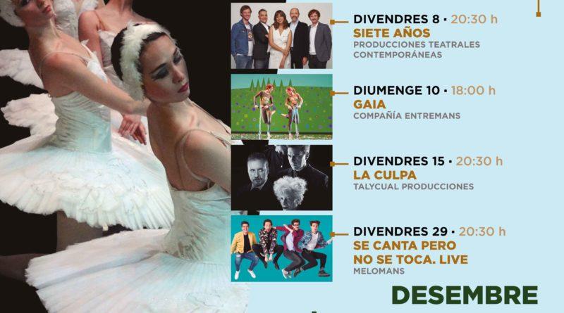 La nueva programación del Gran Teatro trae a Paterna las obras más importantes del panorama nacional
