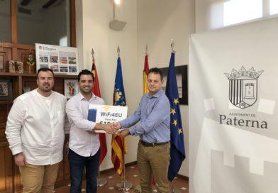 Paterna recibe 15.000 euros de la Unión Europea para ampliar la cobertura de la red wifi municipal gratuita