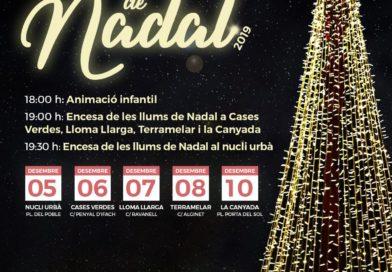 El martes 10 de diciembre La Canyada acoge su encendido de luces navideño en la plaza