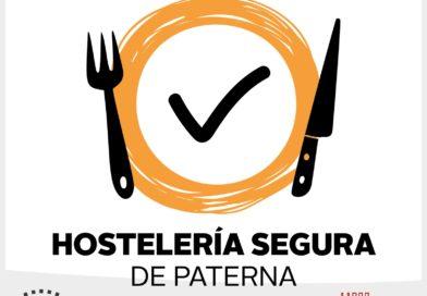 """El Ayuntamiento abre el plazo para solicitar el sello """"Hostelería Segura Paterna"""" para establecimientos libres de COVID-19"""